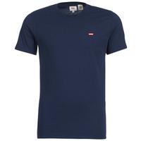 textil Herr T-shirts Levi's SS ORIGINAL HM TEE Marin