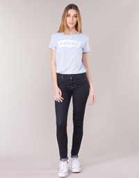 textil Dam Skinny Jeans Levi's 721 HIGH RISE SKINNY The / Nine