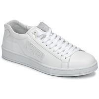 Skor Herr Sneakers Kenzo TENNIX Vit