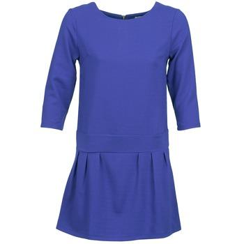 textil Dam Korta klänningar Betty London CANDEUR Blå