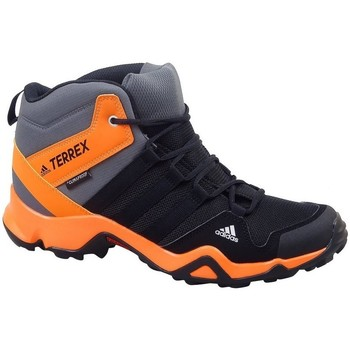Skor Herr Höga sneakers adidas Originals Terrex AX2R Mid CP Svarta,Gråa,Orange