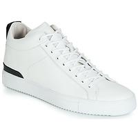 Skor Herr Höga sneakers Blackstone RM14 Vit
