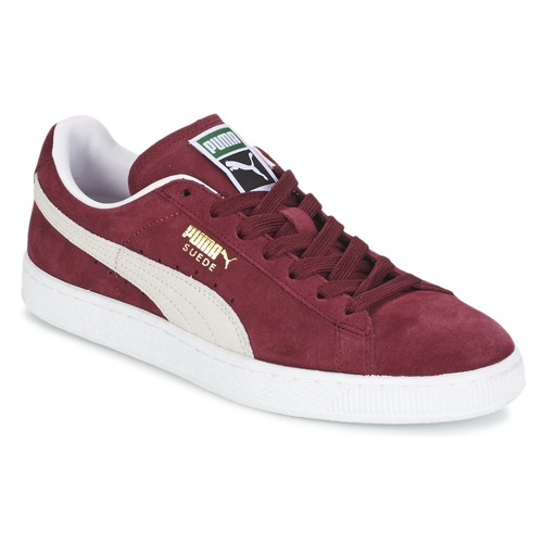 Skor Sneakers Puma SUEDE CLASSIC Bordeaux