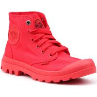 Skor Dam Höga sneakers Palladium Mono Chrome 73089-600-M red