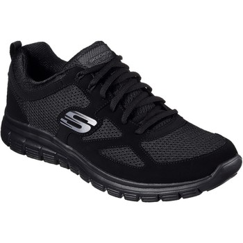 Skor Herr Sneakers Skechers Burns Svarta