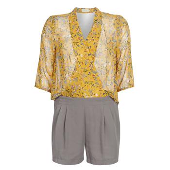 textil Dam Uniform See U Soon GARAGALE Gul / Kaki
