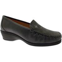 Skor Dam Loafers Calzaturificio Loren LOK3992gr grigio