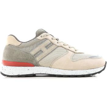 Skor Herr Sneakers Hogan HXM2610R676IHY0PD5 beige