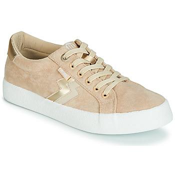 Skor Dam Sneakers MTNG ROLLING Beige