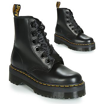 Skor Dam Boots Dr Martens Molly Svart