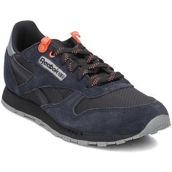 Skor Barn Sneakers Reebok Sport Classic Leather Svarta