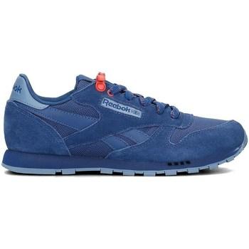 Skor Barn Sneakers Reebok Sport Classic Leather Blå