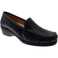 Skor Dam Loafers Calzaturificio Loren LOK3979bl blu