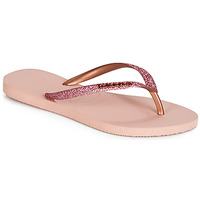 Skor Dam Flip-flops Havaianas SLIM GLITTER Rosa