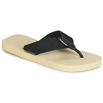 Skor Herr Flip-flops Havaianas URBAN BASIC Beige