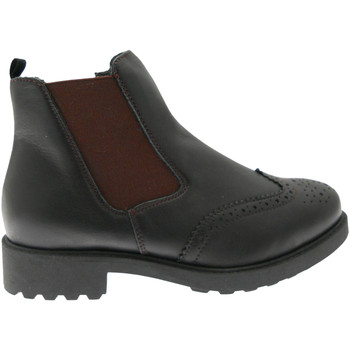 Skor Dam Boots Calzaturificio Loren LOC3753ne nero