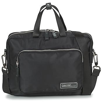Väskor Herr Portföljer Calvin Klein Jeans PRIMARY 1 GUSSET LAPTOP BAG Svart