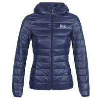 textil Dam Täckjackor Emporio Armani EA7 TRAIN CORE LADY LT DOWN JACKET Marin