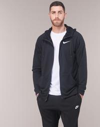 textil Herr Sweatshirts Nike MEN'S NIKE DRY TRAINING HOODIE Svart