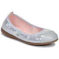 Skor Flickor Ballerinor Citrouille et Compagnie JARAMIL Silver