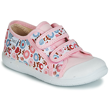 Skor Flickor Sneakers Citrouille et Compagnie JORIPALE Rosa / Röd