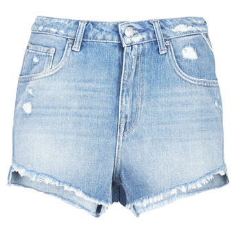 textil Dam Shorts / Bermudas Replay PABLE Blå / 010