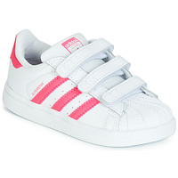 Skor Flickor Sneakers adidas Originals SUPERSTAR CF I Rosa