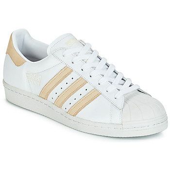 Skor Sneakers adidas Originals SUPERSTAR 80s Vit / Beige