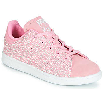Skor Flickor Sneakers adidas Originals STAN SMITH C Rosa