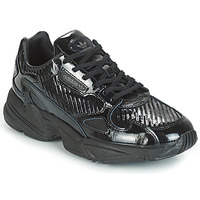Skor Dam Sneakers adidas Originals FALCON W Svart / Glitter