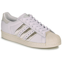 Skor Dam Sneakers adidas Originals SUPERSTAR 80s W Vit / Beige