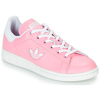 Skor Flickor Sneakers adidas Originals STAN SMITH J Rosa