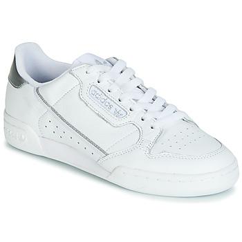 Skor Dam Sneakers adidas Originals CONTINENTAL 80s Vit / Silver