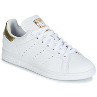 Skor Dam Sneakers adidas Originals STAN SMITH W Vit / Guld