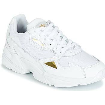 Skor Dam Sneakers adidas Originals FALCON W Vit / Guld