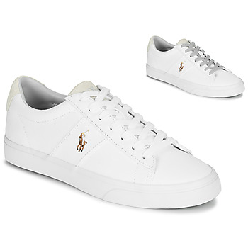 Skor Herr Sneakers Polo Ralph Lauren SAYER Vit