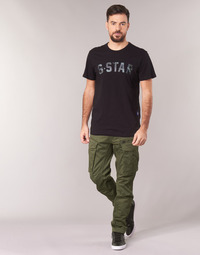 textil Herr Cargobyxor G-Star Raw ROVIC ZIP 3D STRAIGHT TAPERED Kaki
