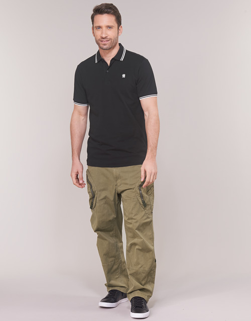 textil Herr Cargobyxor G-Star Raw ROVIC 3D AIRFORCE RELAXED Beige
