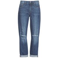 textil Dam Jeans boyfriend G-Star Raw 3302 SADDLE MID BOYFRIEND Blå