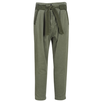 textil Dam Chinos / Carrot jeans G-Star Raw BRONSON ARMY PAPERBAG Kaki