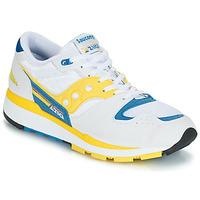 Skor Herr Sneakers Saucony Azura Vit / Gul / Blå