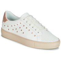 Skor Dam Sneakers Esprit Colette Star LU Vit / Rosa / Guld