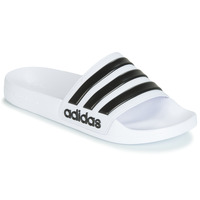 Skor Flipflops adidas Performance ADILETTE SHOWER Vit / Svart