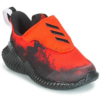 Skor Pojkar Löparskor adidas Originals FORTARUN SPIDER-MAN Röd / Svart