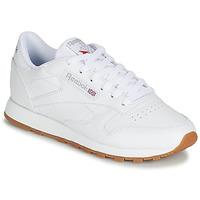 Skor Dam Sneakers Reebok Classic CL LTHR Vit
