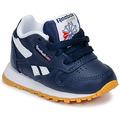 Skor Pojkar Sneakers Reebok Classic CLASSIC LEATHER Blå / Vit