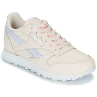 Skor Flickor Sneakers Reebok Classic CLASSIC LEATHER Rosa