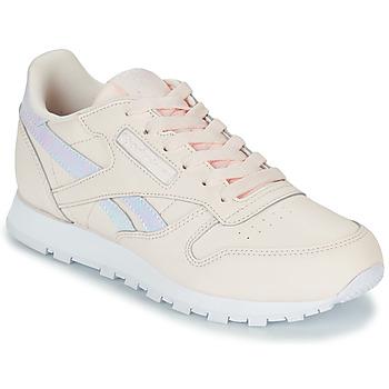 Skor Flickor Sneakers Reebok Classic CLASSIC LEATHER Rosa