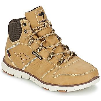 Skor Pojkar Boots Kangaroos BLUERUN 2098 Beige