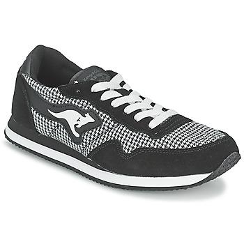 Skor Dam Sneakers Kangaroos INVADER TWEED Grå / Svart